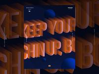 Typographyic Poster