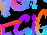 Abstract Lettering