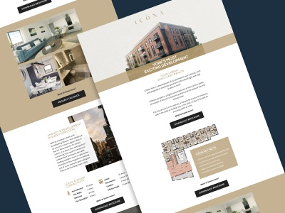 MPP Invest - Email Campiagn ui landing page web design digital branding website activate housing development property email campaign email design email