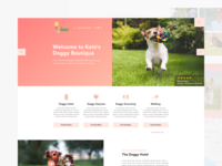 Doggy Boutique (Homepage)