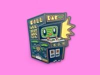 Arcade Buddy Enamel Pin