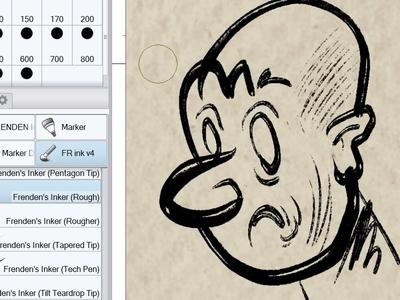 Doodle cartoon doodles inking frenden brushes frenden clip studio