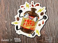Slaptastick Sticker - Nitro Cold Brew Coffee