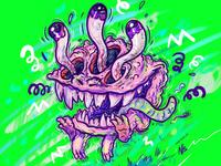 Noodley Eyes Monsta