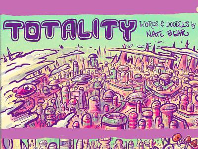 Planetside Comic - 1st Panel comicsart sci-fi city space cities cartoons sci-fi kickstarter comics