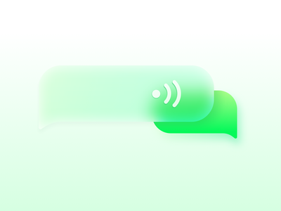 Chat app icons green gree chat icon ui