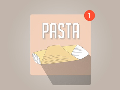 Garganelli dailyui garganelli pasta icon pasta app icon app