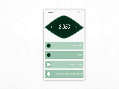 TO DO LIST illustration mobile to do list to do dailyui