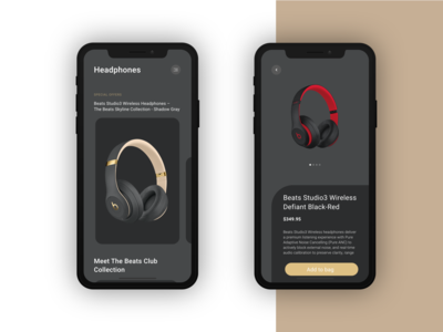 Beats Headphones products mobile app