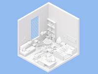 Room Render | hamster