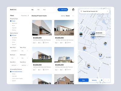 Real Estate Agency : Part 1 creative  design design inspiration user experience agency real estate uiux userinterfaces webapp app web