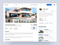Real Estate Agency : Part 2 web  design application minimal creative  design design inspiration user experience ui design uiux userinterface website design branding agency website property management real estate agency buy sell rentals realestate