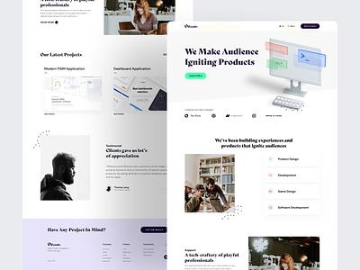 Ozstudio : Home Page Exploration home page minimal agency branding website design design 3d design inspiration userinterface creative design website agency