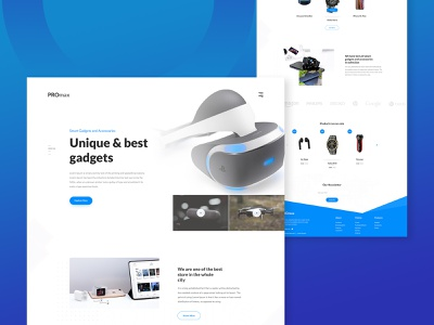 Promax : Landing Page Design Concept ui design creative  design landing page web ui ux website ecommerce web design web user experience user interface ui ux design inspiration minimal branding ui design