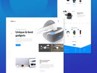 Promax : Landing Page Design Concept