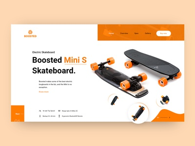Boosted Mini S: Electric Skateboard Header Exploration
