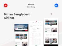 Biman Bangladesh Airlines - UX Case Study