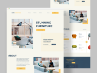 Furniture Landing page