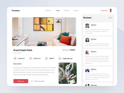 Hotel booking concept - Part 2 hotel booking traveling booking app booking visual design minimal website uidesign application webapp user experience user interface design inspiration ux ui
