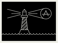 Atlantis Lighthouse Dribbble