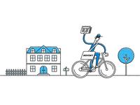Paperboy on a Bike