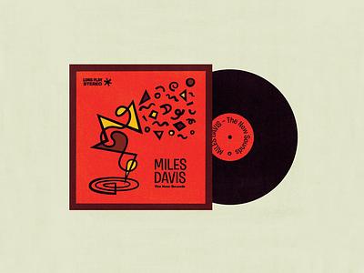Miles Davis – The New Sounds miles davis sound jazz cover vinyl
