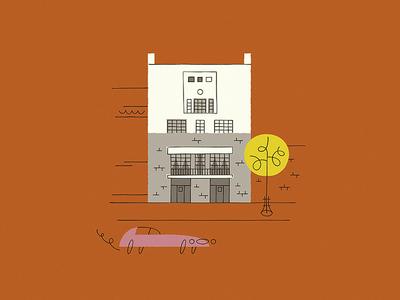 Maison De Tristan Tzara car house adolf loos tristan tzara illustration