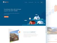 myBrick - Landing Page