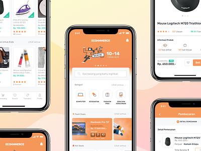 Ecommerce iOS App app mobile ux complex ui design iphonex ecommerce