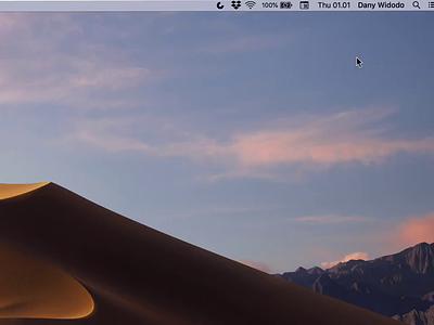 Daily Standup Tool slack tooltips popup mac animation tool standup widget