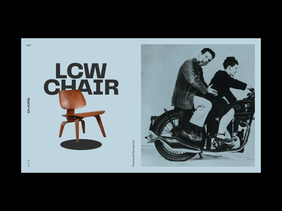 Chairs landing after effects ux typography vintage retro chairs furniture designers motion graphics animation ui webdesign interior interface