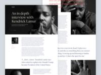 Kendrick Lamar - Vice interview