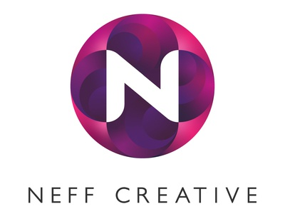 Neff Creative Logo logo design type icon branding typography logo vector design illustration