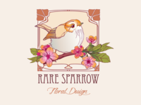 Rare Sparrow Logo Design