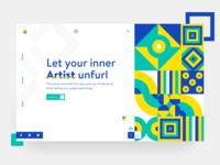 Art Courses concept