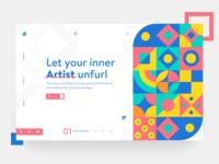 Art Courses concept V2