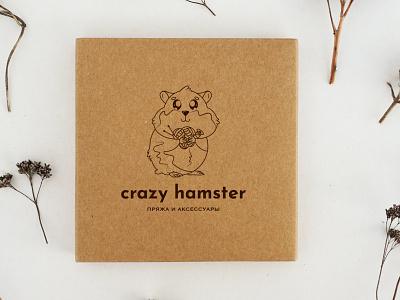 Logo:  Sale of yarn line art rodent animal character threads shop ecommerce yarn hamster logo branding flat illustration vector