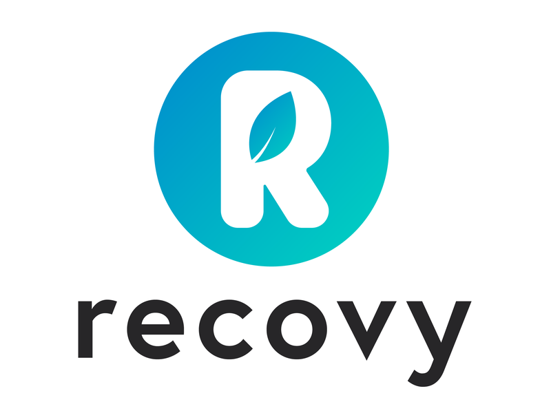 Recovy illustrator logodesign branding logo