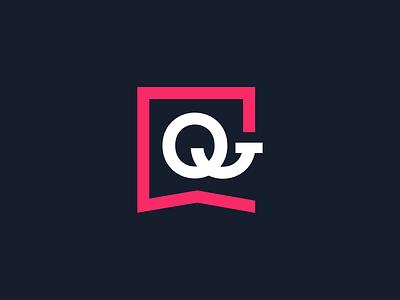 BQProfesional symbol logo design clean minimalism red rating opinion indetity branding