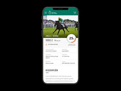 Nunca se Sabe iphonex mobile clean race horse