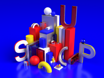 3D Abstract Illutration 3d artist webdesign illustration 3d art 3d