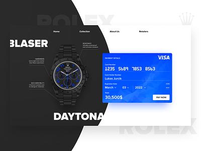 Daily UI #002  |  Checkout challenge checkout 002 ecommerce denmark webdesign web design ux ui