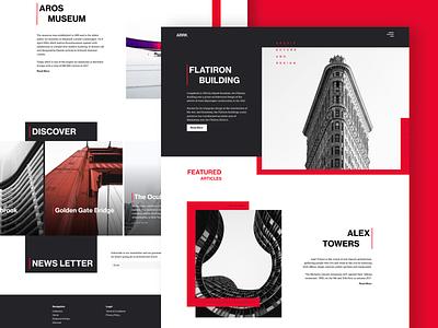 Arrkitekt Blog | Concept concept blog typography web webdesign design ux ui