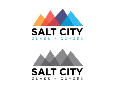 Salt City Glass & Oxygen Logo