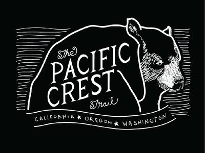 Pacific Crest Trail Shirt Design