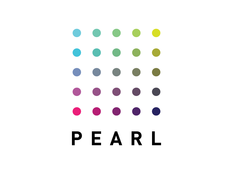 Pearl color product logo brand