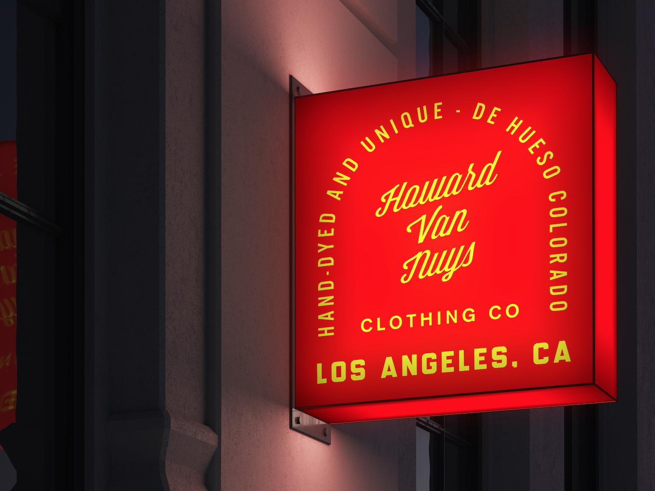 Clothing Brand design branding typeface