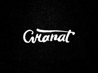 Granat raw lettering variation