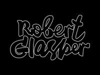 Robert Glasper lettering