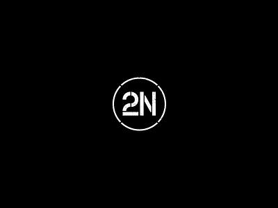 2Nova logo concept sign logo stencil